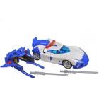 Transformers Go - G01 - Kenzan Samurai - Police Car - Loose - 100% Complete