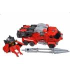 Transformers Go - G03 - Ganou Samurai - Fire Truck - Loose - 100% Complete