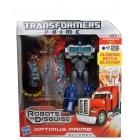 Transformers Prime Voyager Series - Optimus Prime - MISB