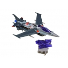Transformers Prime Voyager Series 02 - Robots in Disguise - Starscream - Loose - 100% Complete