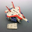 TFTM - G1 Starscream Redeco - Loose - 100% Complete