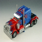 Transformers the Movie - Target Robo-Vision Optimus Prime - Loose - 100% Complete
