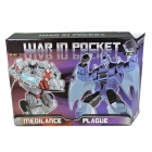 War in Pocket - X03 Medilance & X04 Plague Set of 2 - MIB - 100% Complete