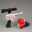 World's Smallest Transformers - Convoy vs Megatron - Missing gun