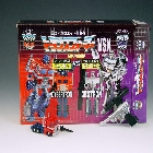 World's Smallest Transformers  - Convoy vs Megatron - MIB - 100% Complete
