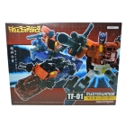 Xovergen - TF-01 - Trailer Force - Master Armor - MIB - 100% Complete