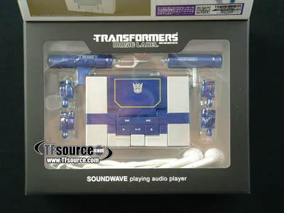 Music Label MP3 Player Soundwave - Spark Blue Version
