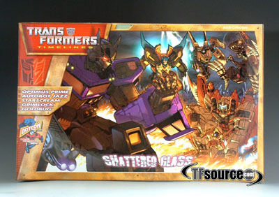 Botcon 2008 Shattered Glass Boxed Set