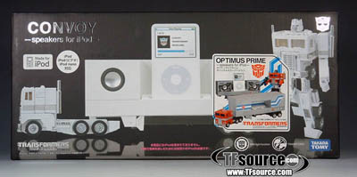 Music Label Ipod Convoy - G1 Anime Colors
