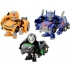 Transformers Q - QTFS01 - Anime Shuyaku Set of 3 Figures