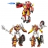Platinum Edition - Planet of Junk Clash - Set of 3 Figures