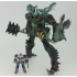 Transformers Movie 10th Anniversary MB-09 - Dinobot Grimlock & Optimus Prime