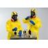Threezero - Breaking Bad Heisenberg and Jesse Hazmat Combo - 1/6 Scale Figures
