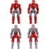 Diaclone Reboot - DA-04 Dia-Naughts Version 3 Set of 8 - Limited Edition Exclusive