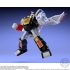 Mighty Morphin Alien Rangers - Super Mini Pla - Ninja Megazord & White Ninja Falconzord