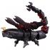 Diaclone Reboot - DA-34 Waruder Raider Raptor Head Dark Cathode Type