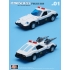 M01 Police Car M02 Thunderbolt M03 Smog - Set of 3 Figures