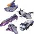 Henkei Classics - Decepticon Specialists - Galvatron Octane Astrotrain 3-Pack