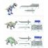 TFC Toys - Star Cats - Dinosaur Team - Set of 5 Figures - Loose