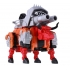 Reformatted - Feral Rex - Full Set of 5 Figures