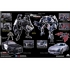 DOTM - APS-03 - Decepticon Barricade & Soundwave - Limited Edition Asia Exclusive