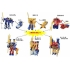 Kabaya - Transformers Go! - Wave 1 - Candy Toys - Set of 3