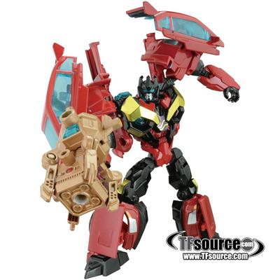 Japanese Transformers Prime - AM-30 - Rumble - MIB