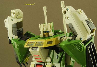 Headrobots - Hothead - Headmaster Head - MOC