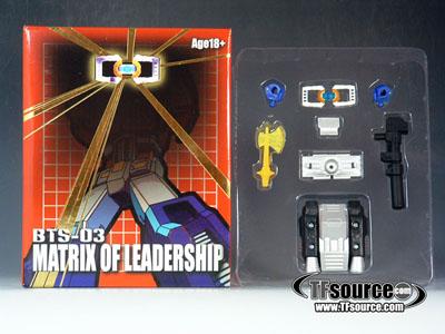 BTS-03 - G1 Prime Matrix of Leadership Upgrade Set