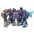 DX9 Toys - War in Pocket - Dino Set of 5 Figures - Black Version