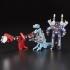 Transformers Vintage G1 Mini-Cassettes 3-Pack Gurafi, Noizu, Decepticon Frenzy - MOSC