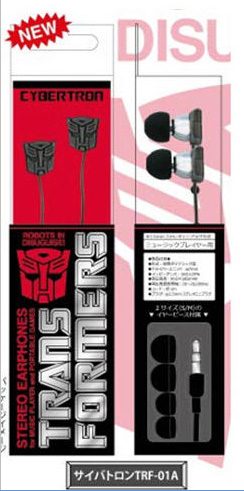 Transformers - TFR-01A Stereo Earphone - Cybertron Autobot