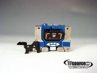 WST Worlds Smallest Transformers - Loose - Soundwave - 100% Complete!