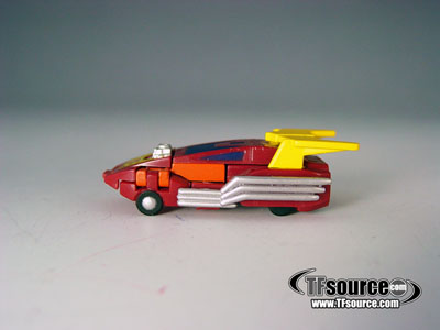 WST Worlds Smallest Transformers - Loose - Hot Rodimus