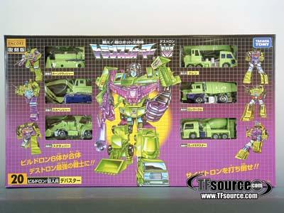 Encore #20 - Constructicons Devastator