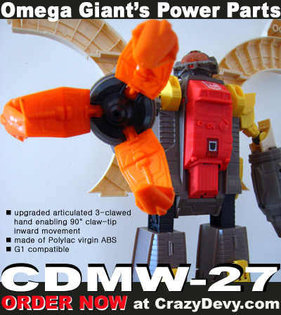 CDMW-27 - Omega Giants Power Parts - Upgraded Claw
