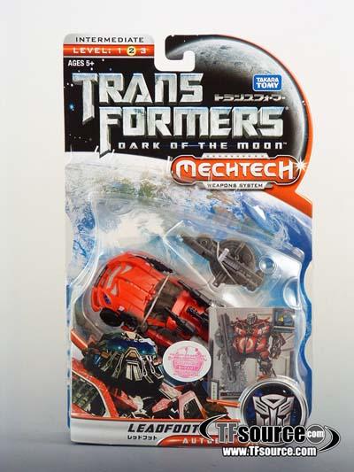DOTM - Transformers - DA-34 Leadfoot