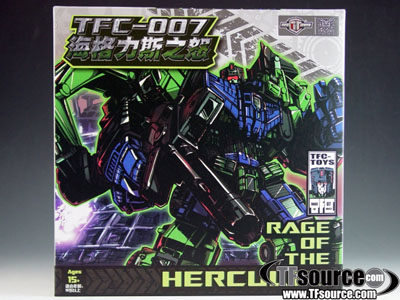 TFC Toys - TFC-007 - Rage of Hercules Add-on Kit