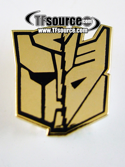 Botcon 2012 - Shattered Glass - Golden Ticket Pin