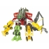 EZ Collection - Devastator - Movie Colors - Set of 7 Figures -  Loose - 100% Complete