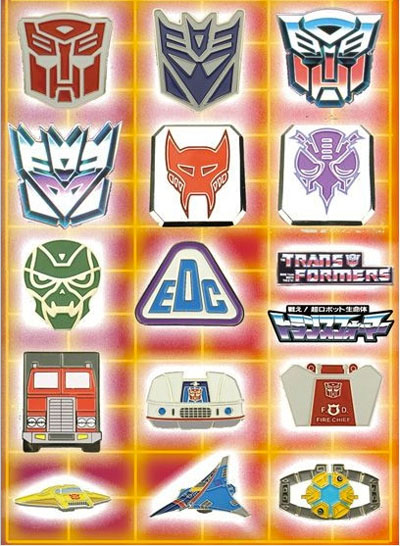 Transformers Pin Collection - Series 01 - Vintage G1 - Box of 20