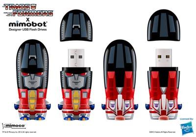 Mimobots - Starscream - USB Flash Drive - 8GB
