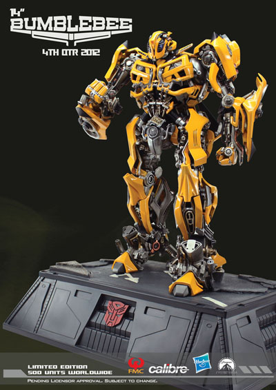 DOTM - Calibre - Bumblebee Statue - 14 inch tall - Limited Edition of 500 Pieces