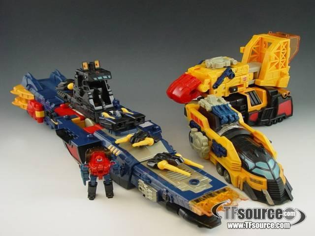 Energon - Omega Supreme - Loose - Missing Missiles