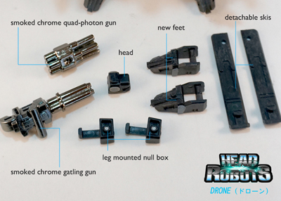 Headrobots - Drone - Upgrade Kit