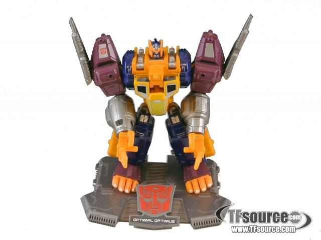 Titanium - Optimal Optimus - Loose - 100% Complete