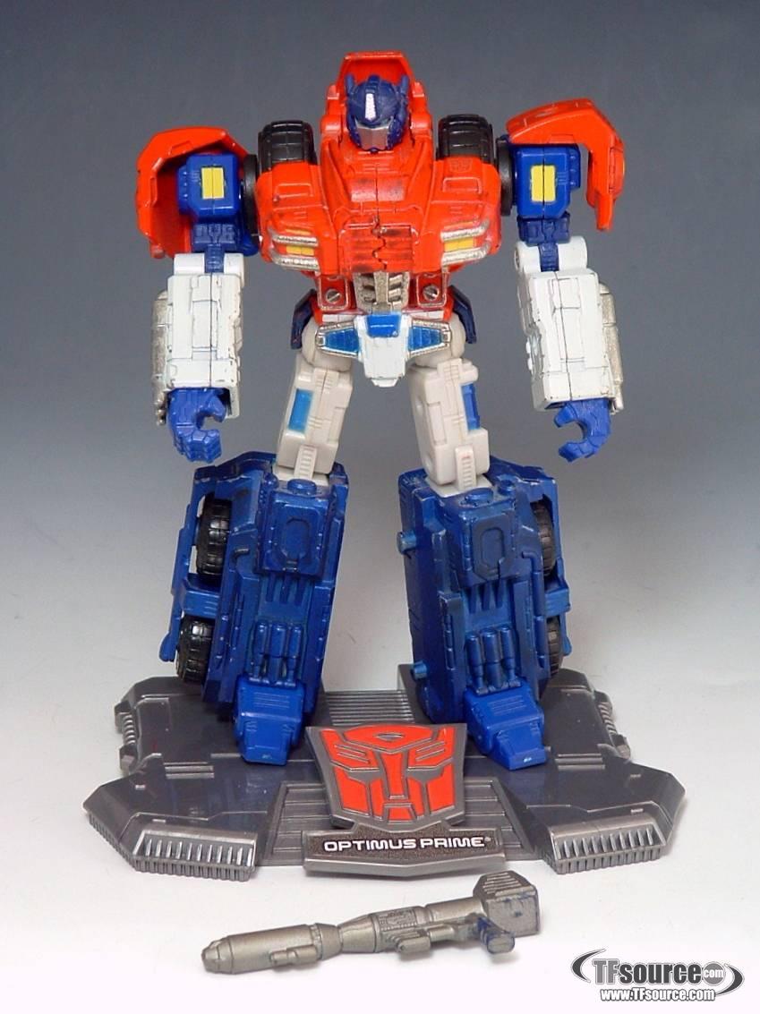 Titanium - Optimus Prime - War Within - 100% Complete