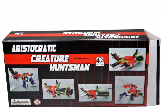 Zenith Forge - ZF-002 Beast Hunters Prime Head and Gun Upgrade Kit - MIB - 100% Complete