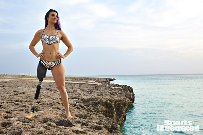 Brenna Huckaby: The First Amputee Sports Illustrated Model