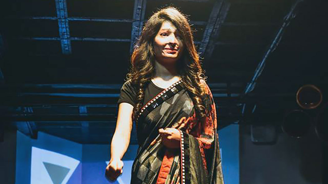 Acid Attacks Survivors Take Part in a Fashion Show to Boost Their Confidence